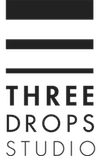 Three Drops Studio Logo